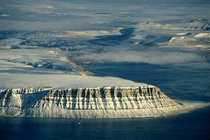 Image of Devon Island from the Canadian Encyclopedia