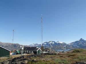 Weather station in Tasiilaq, one of the longest records in Greenland and in one of the most data sparse regions. Image from DMI archive